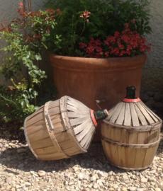 Mandfles in goede conditie, wijn, Frans, industrieel