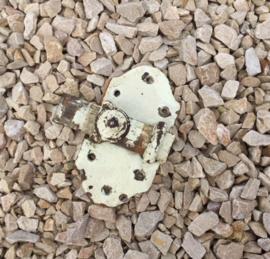 Antiek Frans schuifslot deurvergrendeling smeedijzer
