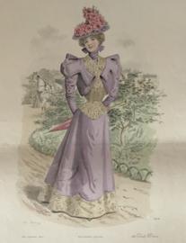 Le Moniteur de la Mode lithographie Abel Gouband Ed. Paris E