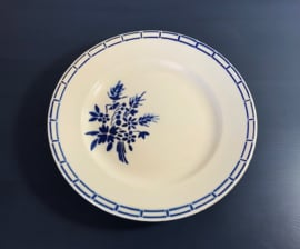 Badonviller demi-porcelaine diep bord serveerbord schaal