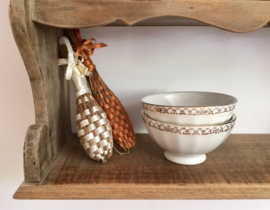 Porseleinen Franse spoelkom, kom, bowl