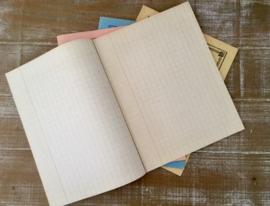 Frans antiek rekenschrift cahier