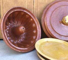 Terracotta aardewerk vuur geglazuurde tulbandvorm