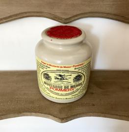 Moutarde de Meaux Franse mosterdpot grès pot