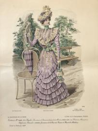 Le Moniteur de la Mode Lithographie kleur Abel Gouband Ed. Paris G