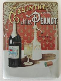 Franse reclamekaart Absinthe Supérieure Jules Pernot