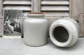 Set grès potten mooie set van steengoed