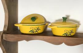 Olives vintage ovenschaaltje 1 persoons Provence