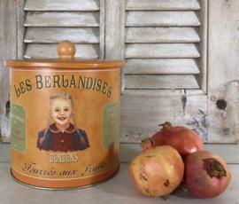 Franse trommel blik La Cure Gourmande Les Berlandises