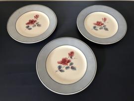 Digoin Sarreguemines model Alain bordje ontbijtbordje 1922-1956