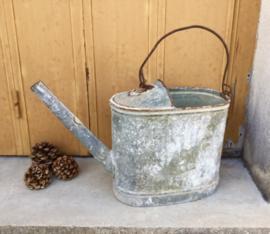 Gieter zink vintage zonder sproeikop / broes
