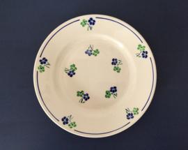 Badonviller Fenal Régence demi-porcelaine schotel