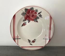 Diep bord Digoin Sarreguemines la Rose 1922-1965