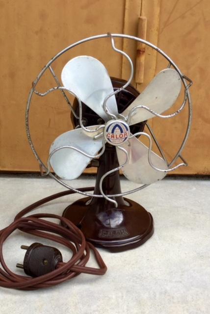 Calor ventilator 105 /115 Volt bakeliet