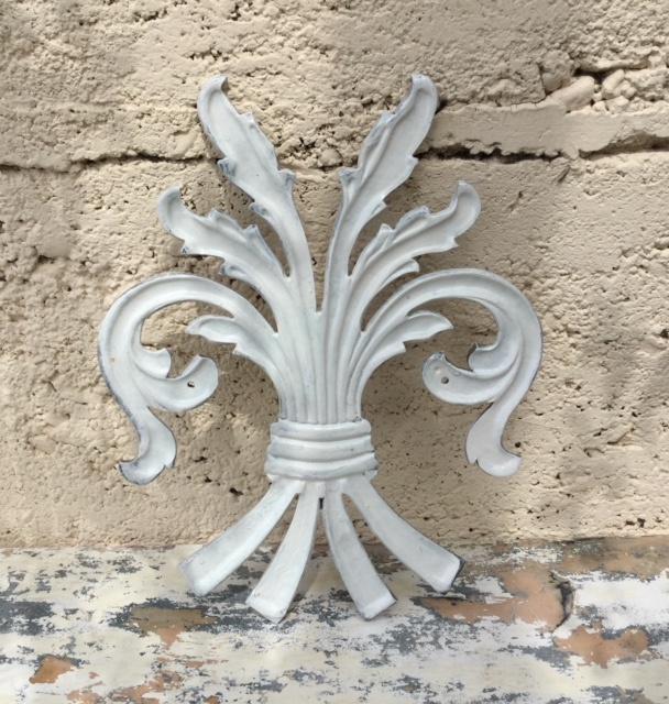 Wonderbaarlijk Franse gietijzeren ornamenten korenschoof schoof pluim | Decoratie RR-69