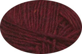 Lettlopi 1409 garnet red heather
