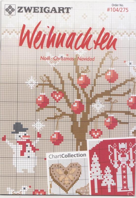 Zweigart borduurboekje Kerst
