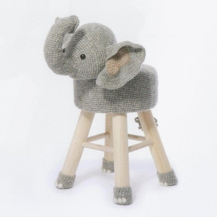 Pakket dierenkruk olifant