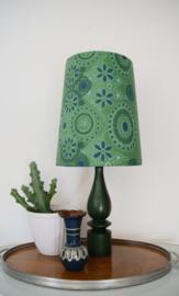 Groen lampje met seventies kap