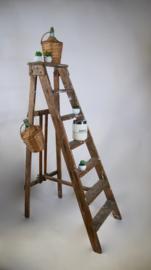 Vintage houten schilderstrap