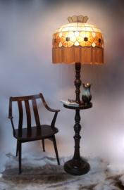 Tiffany glas-in-lood art deco stijl vloerlamp
