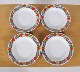 4 vrolijke soepborden