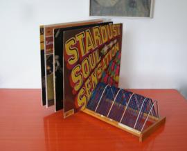 Vintage platenrek jaren 50