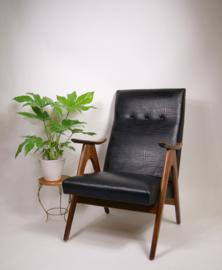 Vintage WeBe fauteuil van Louis van Teeffelen, herenmodel