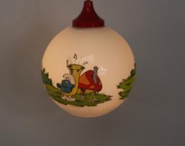 Hanglamp Peyo Belokapi met smurfen