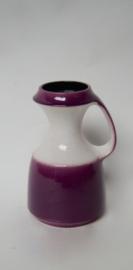 Vintage paarse vaas