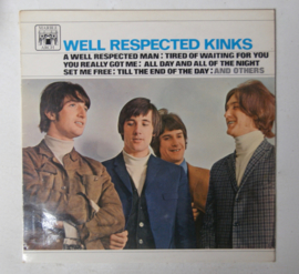 LP The Kinks ; Well respected Kinks