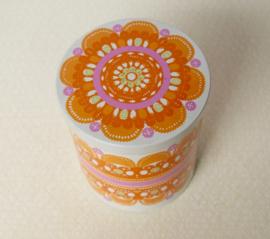 Ira Design blik in oranje kleur