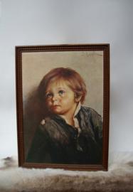 Huilende zigeuner jongen ; G. Bragolin