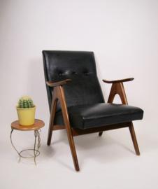 Vintage WeBe fauteuil van Louis van Teeffelen, damesmodel