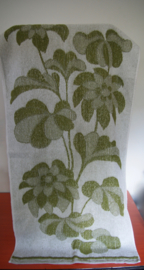 handdoek met bloemprint
