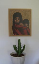 Repro schilderij van 2 kinderen door Beatrix van Belleghem 65