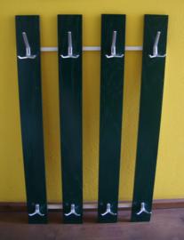 Groene vintage kapstok