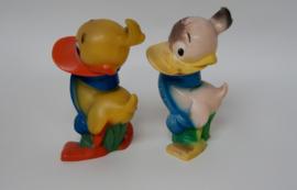 Vintage 2 x speelgoed  Alfred J.Kwak 9080 uit 1987