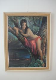 Vintage schilderij J.H.Lynch met lijst