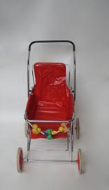 Vintage poppenwagen