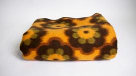 Vintage zachte deken met bloemprint 240 x 190