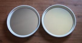 2 witte spiegels