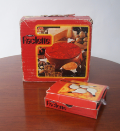 Zwitsers raclette set uit 1960