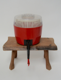 Vintage rode slacentrifuge van Zeus