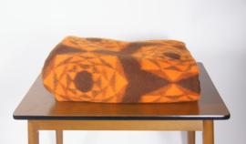 Didas deken met jaren 70 print