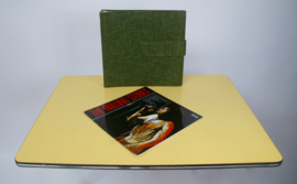 Stoffen vinyl opbergmap Polydor