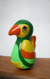Vintage tuimelaar vogel