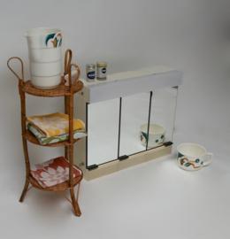 Vintage badkamer/medicijnkast GERDA