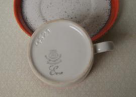 Vintage kop en schotel van Zell am Harmersbach EVA