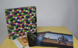 Jaren 70 vinyl opbergmap